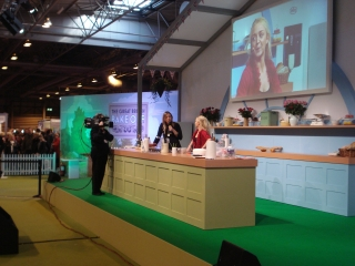 The Great British Bake Off Stage, The BBC Good Food Show 2012