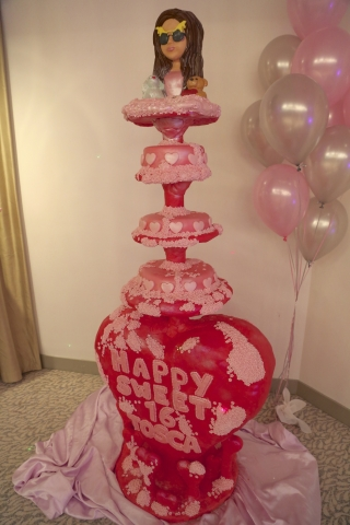 Tosca's Sweet Sixteen at the Dorchester